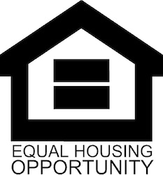 Equal Housing Opportunity logo also known as HUD or the U.S. Department of Housing and Urban Development