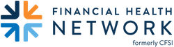 Logo for Financial Health Network formerly CFSI