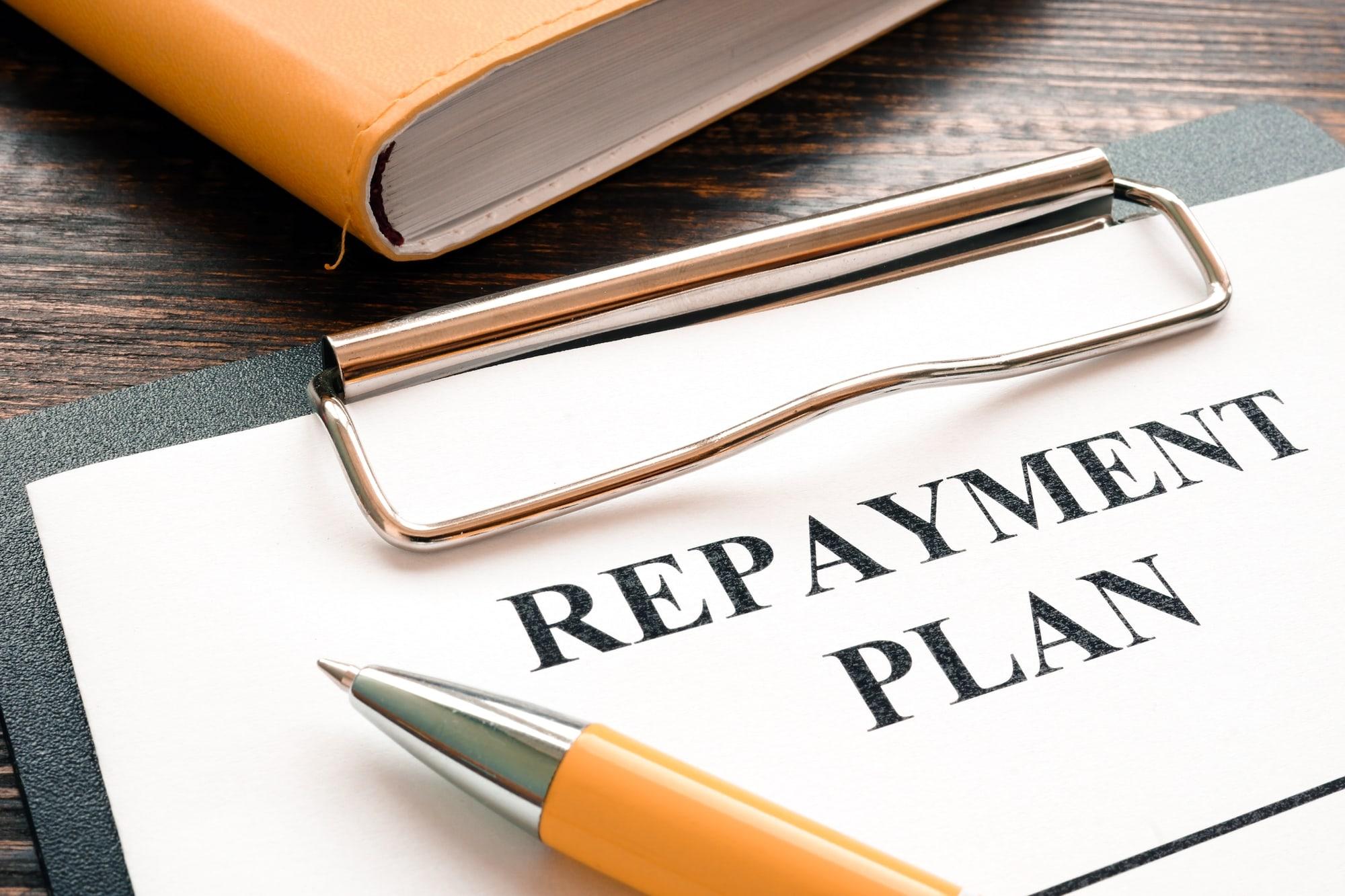 Debt Management Plan, Repayment Plan